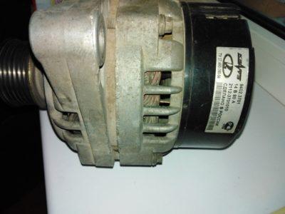 ваз 2114 замена щеток генератора