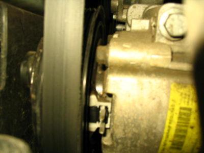 нива шевроле замена ремня генератора