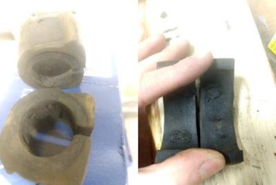 замена втулок стабилизатора рено дастер